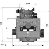 8501300 1 Cube Gp Fliplock Dimensions