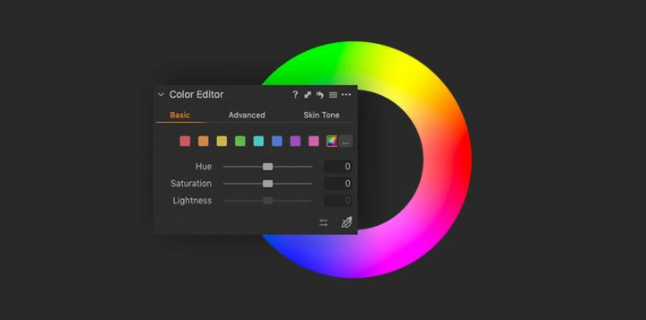 Capture One Raw Photo Editor Tools Whats New Basic Color Editor Tablet