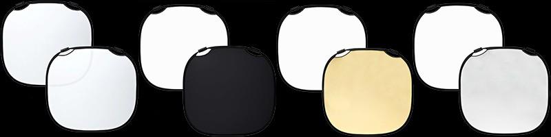 Profoto Collapsible Reflectors On Black