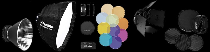 Profoto Ocf Reflectors On Black
