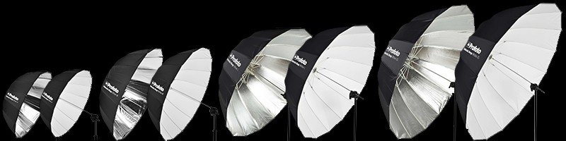 Profoto Umbrellas On Black