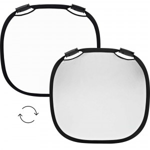 100960 A Profoto Collapsible Reflector Silver White M Front