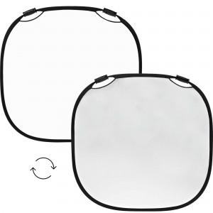 100961 A Profoto Collapsible Refelctor Silver White L Front