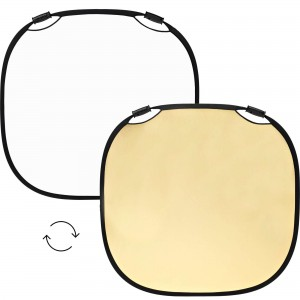 100965 A Profoto Collapsible Reflector Gold White L Front