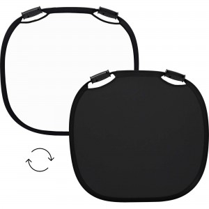 100966 A Profoto Collapsible Reflector Black White M Front