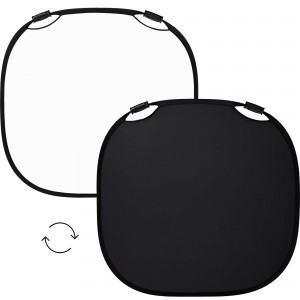 100967 A Profoto Collapsible Reflector Black White L Front