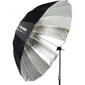 100981 E Profoto Umbrella Deep Silver Xl Angle