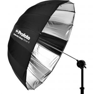 100984 E Profoto Umbrella Deep Silver S Angle