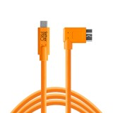 Cuc33 R15 Org Tether Pro Usb C To 3 0 Micro B Right Angle 15 Org Main