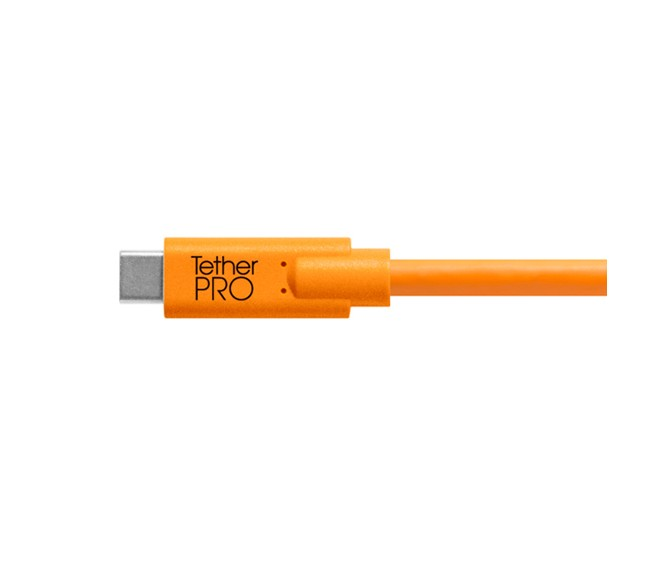 Cuc33 R15 Org Tether Pro Usb C To 3 0 Micro B 15 Org Tip Side